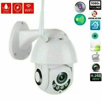 1080P WIFI IP-Kamera Drahtlose CCTV im Freien HD PTZ Smart Home Security IR Neu