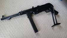 Replica German WW2 Submachine Gun MP 40 Waffen SS MOVIE Prop Non-Firing REPLICA