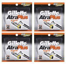 40 Gillette Atra Plus Razor Blades Cartridges Refills Shaver Ft Schick Slim Twin