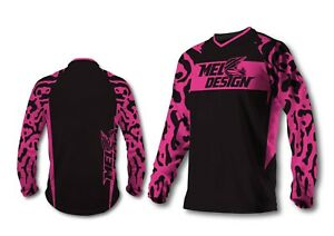 Maillot moto cross enfant TAILLE18  4/6 ans meldesign 6xs