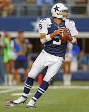 Dallas Cowboys TONY ROMO Glossy 8x10 Photo Football Print Throwback Uniform