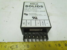 Sola 85 15 2120 Solid State 15vdc Power Supply