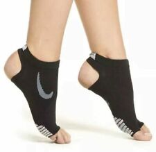 NikeGrip Elite Studio Stability Training Socks Footie Women's Yoga Barre DRI-FIT