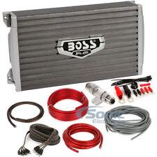 Boss AR3000D Monoblock Armor Series Class D Car Amplifier + Kit