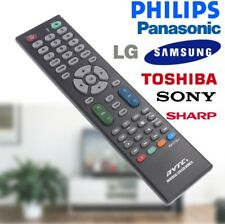 TELECOMANDO TV SMART 3D LCD UNIVERSALE COMPATIBILE PER - LG SAMSUNG PHILIPS SONY