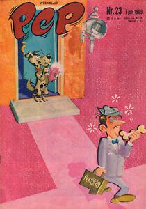 PEP 1969 nr. 23 - MARIANNE FAITHFULL / ANTON EBBEN / ENGELBERT (COVER)