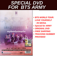 DVD BTS World Tour :Love Yourself ~ NEW DVD ~ English Subtitle ~ All Region