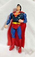 Superman Action Figure 5 inches 1995 DC Comics w/ detachable plastic cape