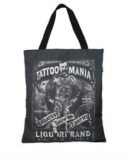 Liquor Brand Tattoo Mania Freakshow Sideshow Strongman Tote Shopping Bag New