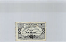 France - Avesnes 1 Franc 30.7.1916 Série 3 n° 55184 Pirot 59.207