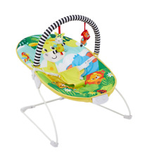 Baby Bright Colourful Safari Bouncer With Soothing Music Vibration Toys 0m+ 695