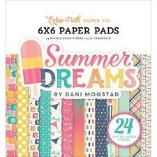 Echo Park ~ SUMMER DREAMS ~ 6x6 Paper Pad 24 pcs