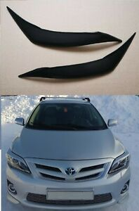 For Toyota Corolla 150 Eyelids Eyebrows Headlights Set 2011-2013
