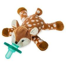 WubbaNub Itsy Glitzy Amber Fawn Infant Pacifier Stuffed Animal By Mary Meryer