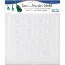 "Resin Jewellery Mould Jewels 14 Cavity 6.5"" x  7"""