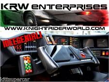 1982-1992 PONTIAC FIREBIRD KNIGHT RIDER KITT KARR SUPERCAR 2TV DASH PACKAGE IG