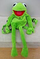 Genuine Original Disney Muppet Show KERMIT The FROG BACKPACK Adjustable Straps