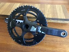 SRAM Red carbon crankset, crank w/ 53 and 39 tooth rings, 130BCD, 177.5mm