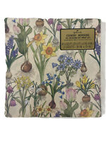 Hallmark Vtg Country Morning Floral All Occasion Gift Wrapping Paper