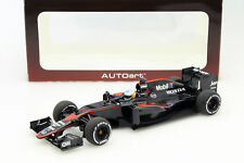 Fernando Alonso Mclaren mp4-30 #14 GP Espagne Formule 1 2015 1:18 AUTOart
