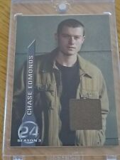 """""""24"""" Tv Series Pieceworks Card Chase Edmonds/Badge Dale! Comic Images Coa M1"""