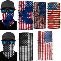 3D Flag Neck Gaiter Warmer Face Scarf Bandana Balaclava Motorcycle Headwear Mask