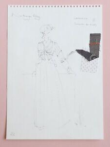 Jane Austen, Northanger Abbey Original Film Costume Design, Nicholas Rocker 1986