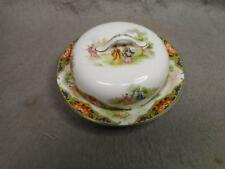 VINTAGE JOHN MADDOX & SONS BUTTER / CHEESE DISH ENGLAND N/R