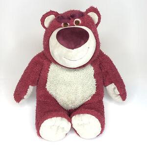 Disney Parks Pixar Toy Story LOTSO Bear Large Strawberry Scented Plush