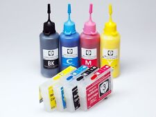 Refillable 73N Ink Cartridges Pigment Kit for T10 T11 T20 T21 TX100 TX110 TX200