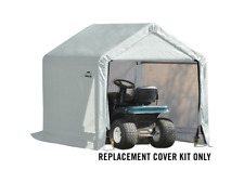 ShelterLogic Replacement Cover Kit for the Shed-in-a-Box 6 x 6 x 6 Pvc White
