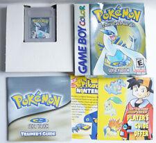 AUTHENTIC Pokemon Silver Version Can Save New Battery CIB GBC #2