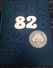 1982 Pattonville High School Yearbook Echo St. Louis Missouri Free Shipping