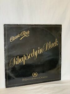 "The London Symphony Orchestra  Classic Rock Rhapsody In Black Vinyl LP 12""(LP91)"