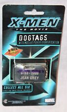 NEW  X-MEN JEAN GREY DOG TAG   AUTHENTIC COLLECTIBLE MARVEL  2000