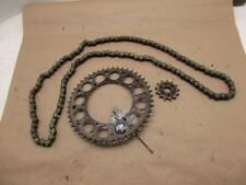 Kawasaki KX250-X 2010 (0555) Renthal chain with front & rear sprockets