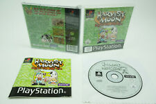 Playstation 1 *Harvest Moon: Back to Nature* PS1 OVP Anleitung