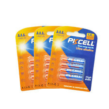 12 x AAA Alkaline Batteries LR03 1.5V AM-4 MN2400 For Electric Toothbrush PKCELL