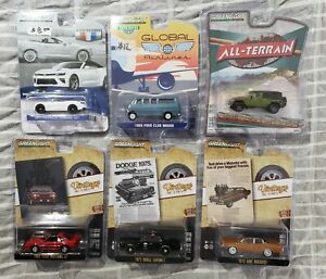 Greenlight Lot of 6 Miscellaneous Cars *MIB* #6