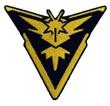 Pokemon Go Team Instinct Patch (3 Inch) Iron on Badge Top Quality Patches New