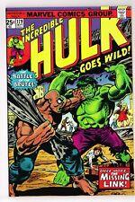 INCREDIBLE HULK #179 MARVEL COMICS 1974 TRIMPE WEIN MISSING LINK VF-