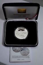 SUPERB WELLS FARGO 150th ANN. 1 Troy oz.999 Silver PROOF Round w/Box&CoA