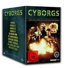 10 CYBORGS BOX Nemesis 1-4 Class KLASSE VON 1999 American Cyborg DVD Collection