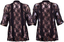 Lace Machine Washable Floral Jumpers & Cardigans for Women