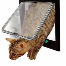 Flap Door Dog Cat Lockable 4 Way Kitten Door Security Small Pet Lockable Gate