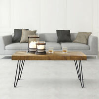 """4x 16"""" Hairpin Table Legs Set Solid Iron Laptop Desk DIY Dining Coffee Table Leg"""