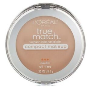 Set of 2 L'Oreal True Match Super Blendable Compact Foundation N2 Classic Ivory