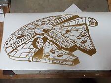 Star Wars Large millennium falcon Vinyl Sticker Wall Art Decal