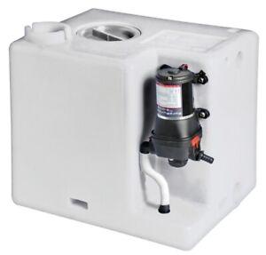 Frischwasser Tank 117 Liter mit Autoklav Automatik Druckwasserpumpe Wassertank