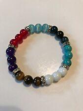 Pack Of 50 Chakra Healing Balance Prayer Beaded Bracelets Yoga Reiki Stones